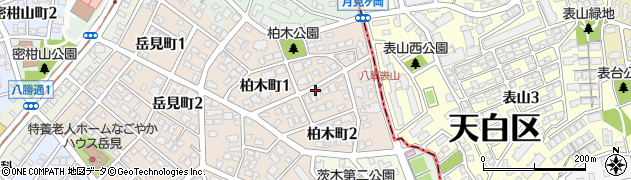 愛知県名古屋市瑞穂区柏木町周辺の地図