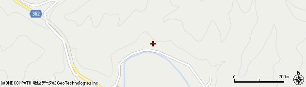 京都府京都市右京区京北細野町(上之町)周辺の地図
