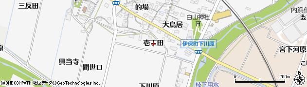 愛知県豊田市伊保町(壱丁田)周辺の地図