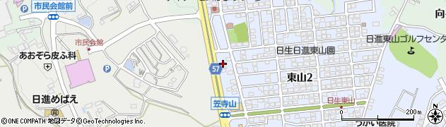 源蔵 日進店周辺の地図