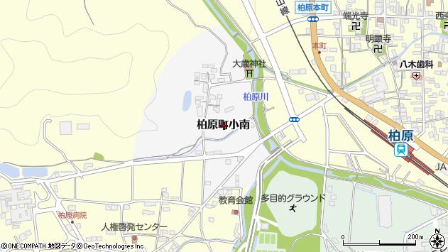 〒669-3308 兵庫県丹波市柏原町小南の地図