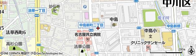 亜樹周辺の地図