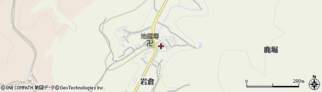 愛知県豊田市成合町(岩倉)周辺の地図