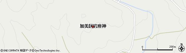 兵庫県多可町(多可郡)加美区岩座神周辺の地図