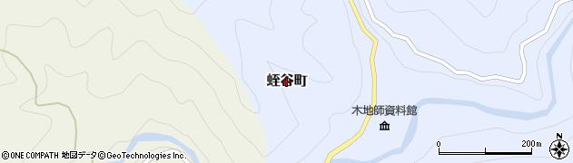 滋賀県東近江市蛭谷町周辺の地図