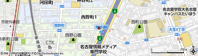 ドミノ・ピザ 熱田店周辺の地図