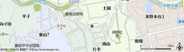 愛知県日進市米野木町(南山)周辺の地図
