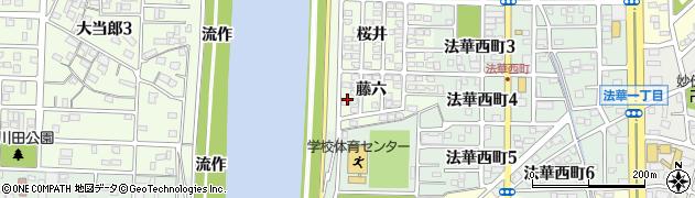 愛知県名古屋市中川区中須町(藤六)周辺の地図