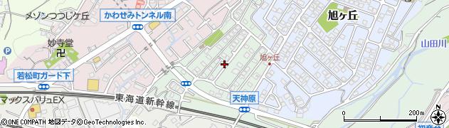 茶楽周辺の地図