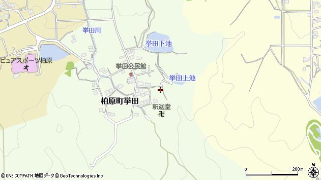 〒669-3314 兵庫県丹波市柏原町挙田の地図