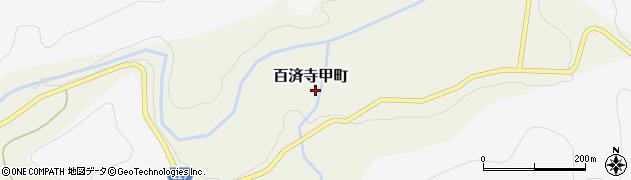 滋賀県東近江市百済寺甲町周辺の地図