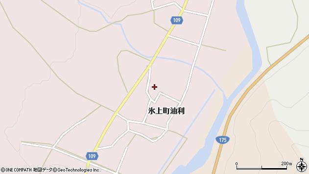 〒669-3573 兵庫県丹波市氷上町油利の地図