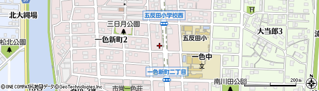 ほっともっと一色新町店周辺の地図