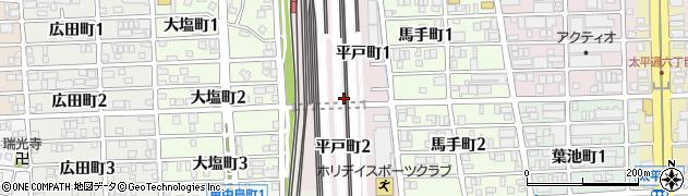 愛知県名古屋市中川区平戸町周辺の地図