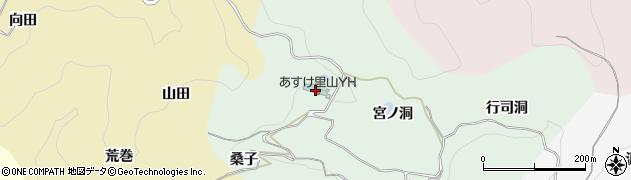 愛知県豊田市椿立町(坂)周辺の地図