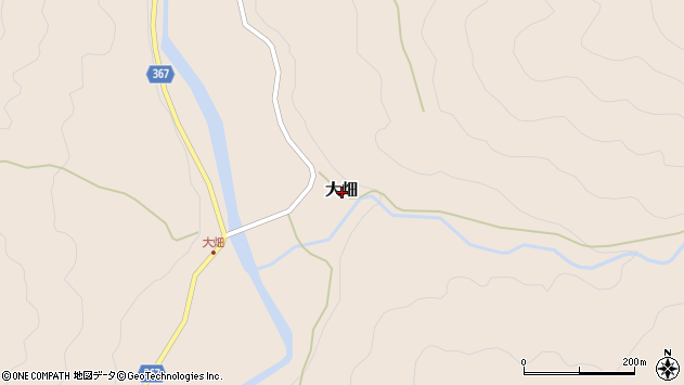 〒679-2403 兵庫県神崎郡神河町大畑の地図