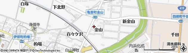 ログハウス周辺の地図