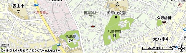 愛知県名古屋市天白区御幸山周辺の地図