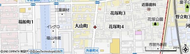 愛知県名古屋市中川区神郷町周辺の地図