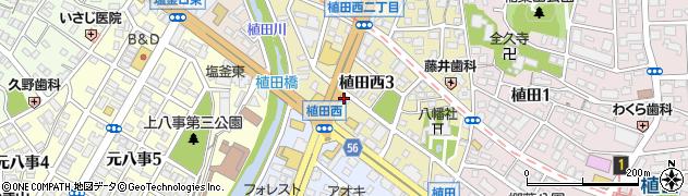 ラウンジRui周辺の地図