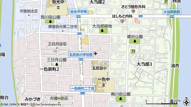 〒454-0946 愛知県名古屋市中川区一色新町の地図