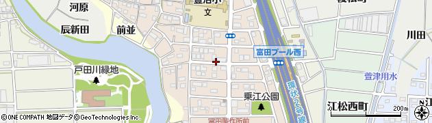 愛知県名古屋市中川区かの里周辺の地図