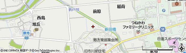 愛知県日進市野方町周辺の地図