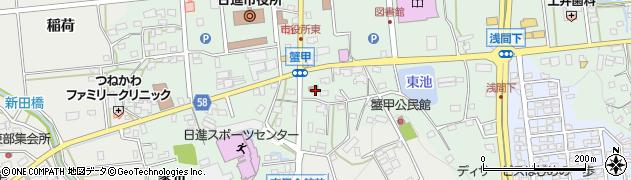 大日堂周辺の地図