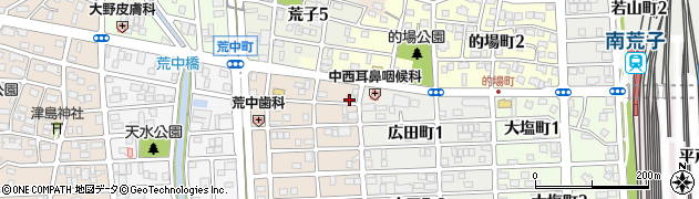 やきや本店周辺の地図
