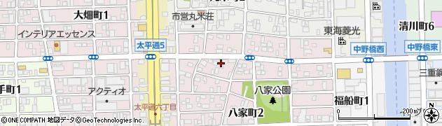 Cage周辺の地図