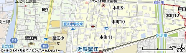 桂寿司周辺の地図