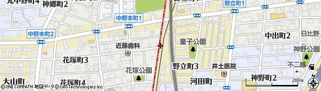 愛知県名古屋市熱田区野立町(下川田)周辺の地図