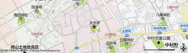 太光寺周辺の地図