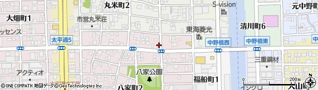 ぢゃんじゃん周辺の地図