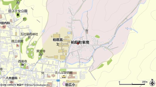 〒669-3302 兵庫県丹波市柏原町東奥の地図