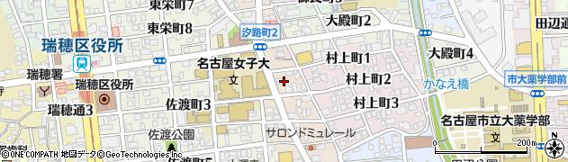 愛知県名古屋市瑞穂区汐路町周辺の地図