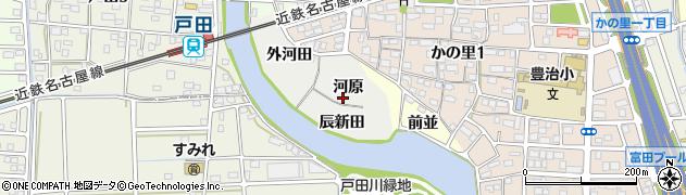 愛知県名古屋市中川区富田町大字供米田周辺の地図