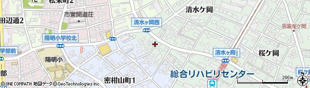 愛知県名古屋市瑞穂区彌富町(上山)周辺の地図