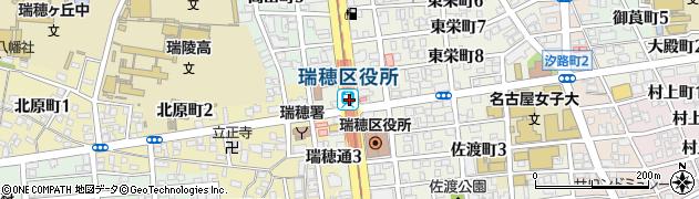 愛知県名古屋市瑞穂区周辺の地図