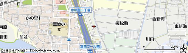 愛知県名古屋市中川区東かの里町周辺の地図