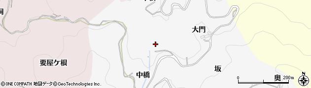 愛知県豊田市綾渡町(中根)周辺の地図