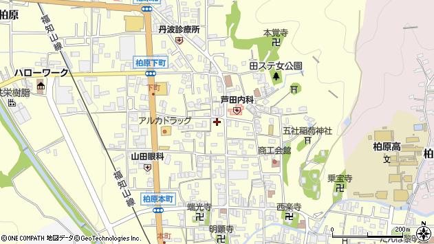 〒669-3309 兵庫県丹波市柏原町柏原の地図