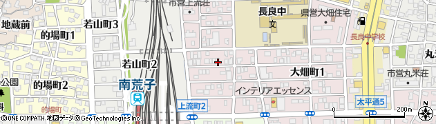 愛知県名古屋市中川区上流町周辺の地図
