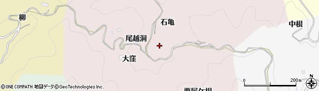 愛知県豊田市大蔵連町周辺の地図