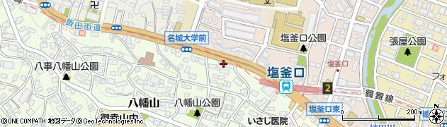 ぱせポン周辺の地図