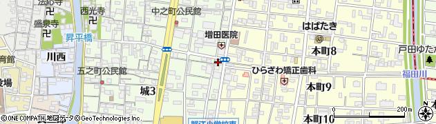 力寿司周辺の地図