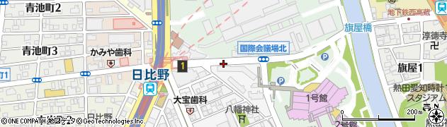 愛知県名古屋市熱田区熱田西町(米田)周辺の地図