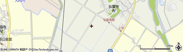 滋賀県東近江市建部下野町周辺の地図