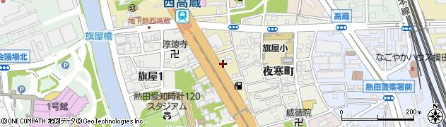 シャーロックホームズ周辺の地図