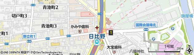 ラブラブ周辺の地図